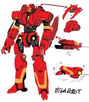 Iron Man Armor Model 57 concept art 001