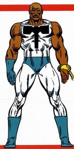 Leroy Jackson (Earth-616) from Official Handbook of the Marvel Universe Master Edition Vol 1 4 0001