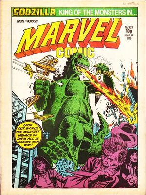 Marvel Comic Vol 1 333