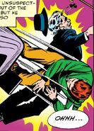 Matthew Murdock (Earth-616) and Maggie Farrell's father (Earth-616) from Daredevil Vol 1 1 001