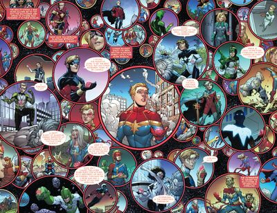 Multiverse from Infinity Countdown Captain Marvel Vol 1 1 001