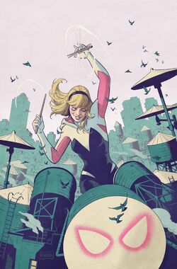 Spider-Gwen Ghost-Spider Vol 1 1 Rivera Variant Textless