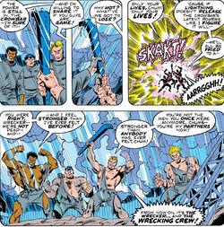 Wreaking Crew (Earth-616) from Defenders Vol 1 18 0001