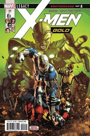 X-Men Gold Vol 2 21