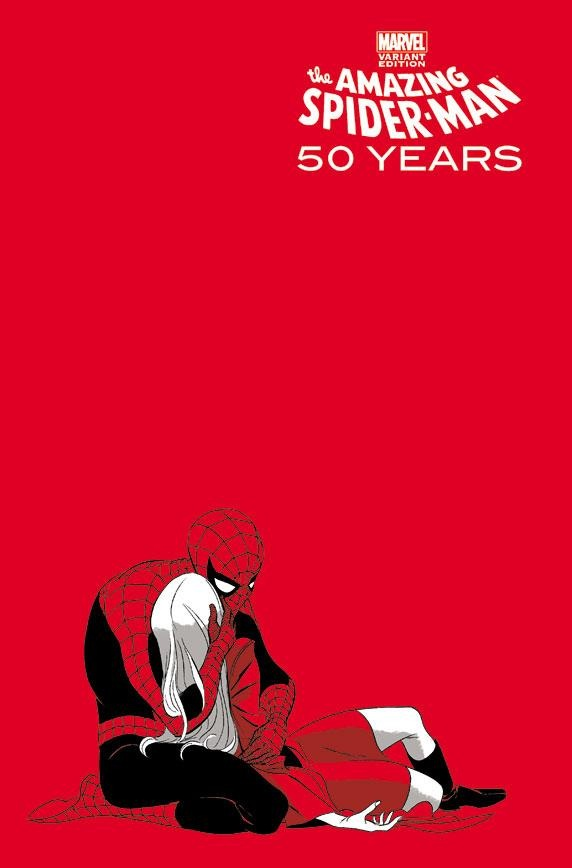 the amazing spider man 50th anniversary