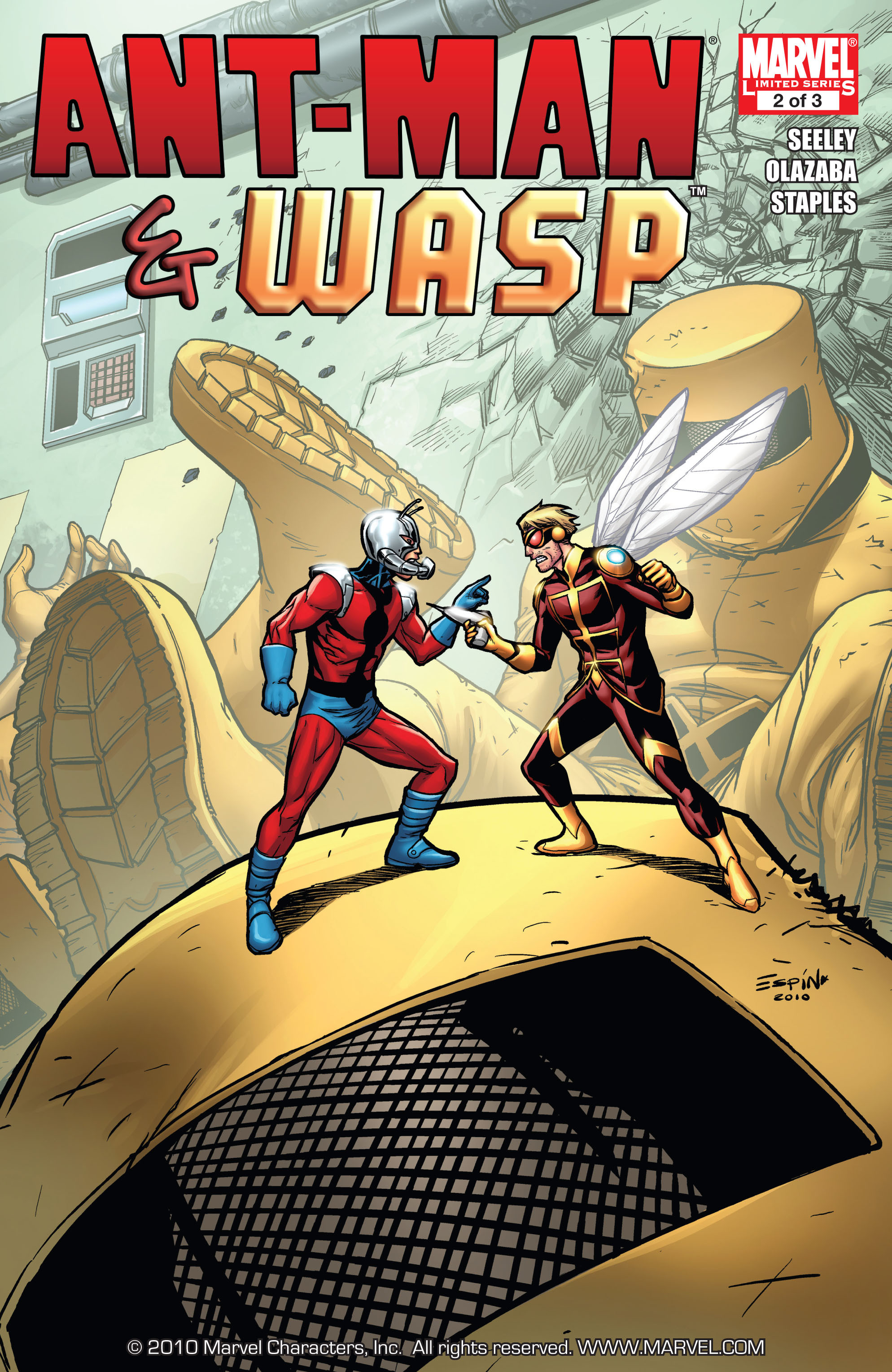 Book Cover Series Wiki : Ant man wasp vol marvel database fandom powered