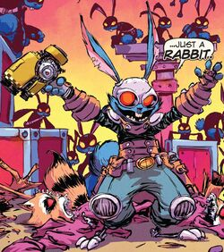 Blackjack O'Hare (Earth-616) from Rocket Raccoon Vol 2 4