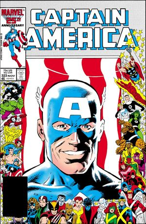 Captain America Vol 1 323