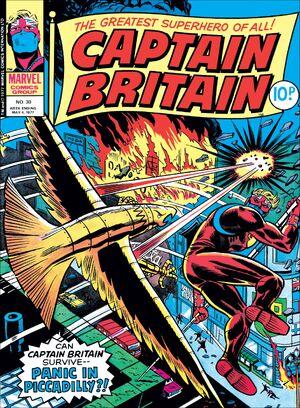 Captain Britain Vol 1 30