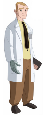 Curtis Connors (Earth-26496) from Spectacular Spider-Man Animated Series 001