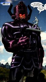 Galan (Earth-71016) from The Last Fantastic Four Story Vol 1 1 0001