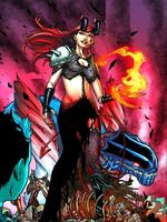 Madelyne Pryor (Earth-91240) from Inferno Vol 1 5 001