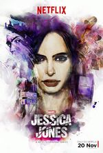 Marvel's Jessica Jones poster 002