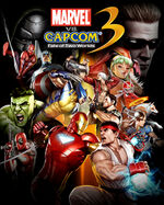 Marvel Vs Capcom 3 box artwork