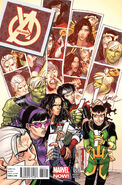 Young Avengers Vol 2 4 David Lafuente Variant