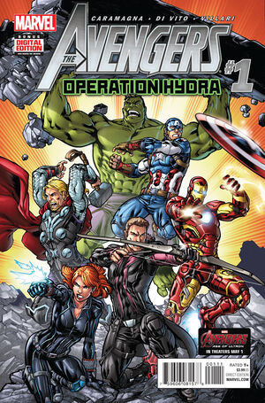 Avengers Operation Hydra Vol 1 1