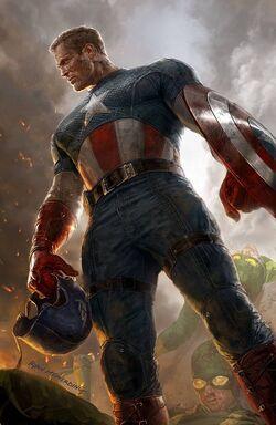 Captain America Vol 7 1 Meinerding Variant Textless