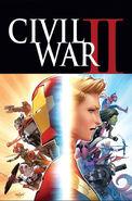 Civil War II Vol 1 1 Marquez Variant Textless