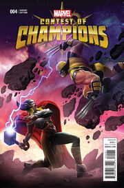 Contest of Champions Vol 1 4 Kabam Contest of Champions Game Variant