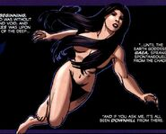 Gaea (Earth-616) from Assault on New Olympus Vol 1 1 0001