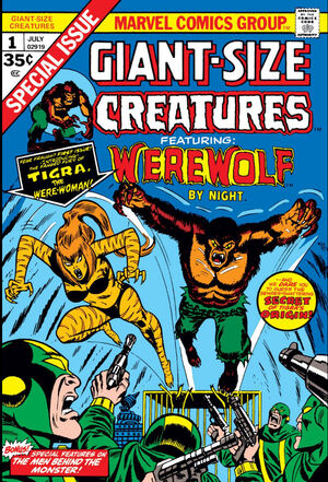 Giant-Size Creatures Vol 1 1