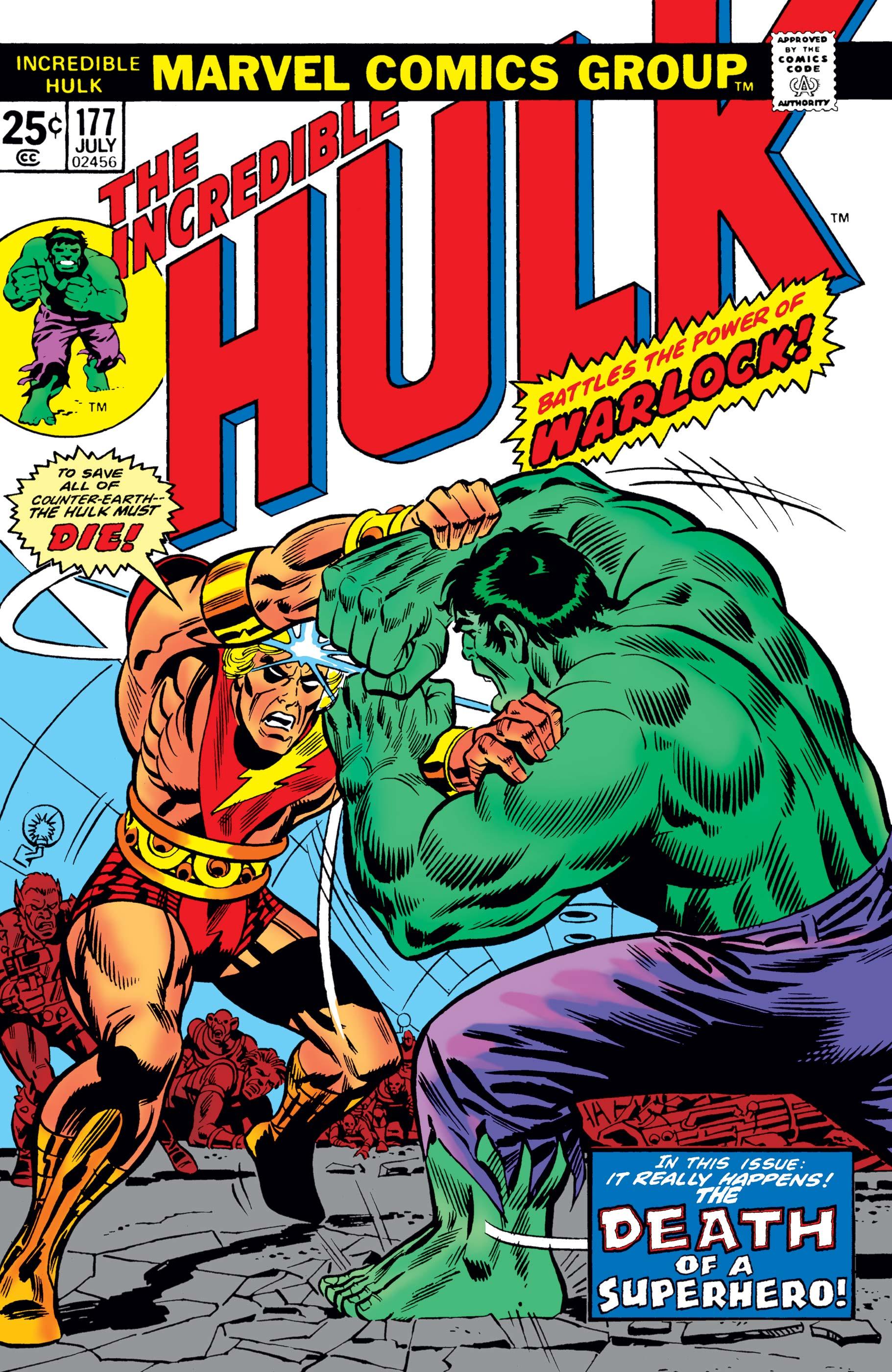 Incredible Hulk Vol 1 177