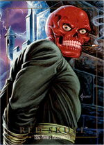 Johann Shmidt (Earth-616) from Marvel Masterpieces Trading Cards 1992 0001