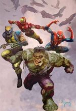 Marvel Zombies Return Vol 1 1 Sudyam Variant Textless
