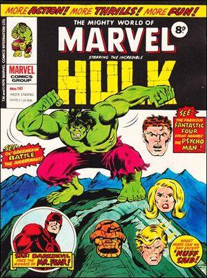 Mighty World of Marvel Vol 1 181