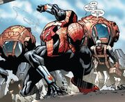 Otto Octavius (Earth-616) and Spiderlings (Earth-616) from Superior Spider-Man Vol 1 22 0001