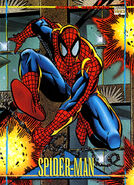 Peter Parker (Earth-616) from Marvel Universe Cards Series IV 0001