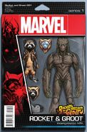 Rocket Raccoon and Groot Vol 1 1 Action Figure Variant