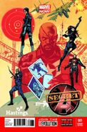 Secret Avengers Vol 2 1 Hastings Variant