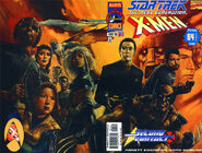 Star Trek The Next Generation X-Men Second Contact Vol 1 1 Variant Wraparound