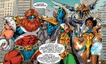 Supreme Four (Warp World) (Earth-616) from Secret Warps Iron Hammer Annual Vol 1 1 001