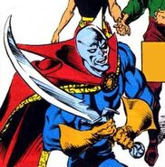 Sword of the Ultimate Shadow from Doctor Strange, Sorcerer Supreme Vol 1 46 001