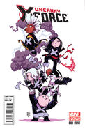 Uncanny X-Force Vol 2 1 Baby Variant