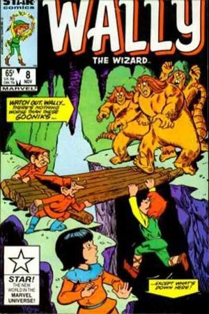 Wally the Wizard Vol 1 8