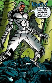 White Tiger (Evolved Tiger) (Earth-616) from Heroes from Hire Vol 1 6