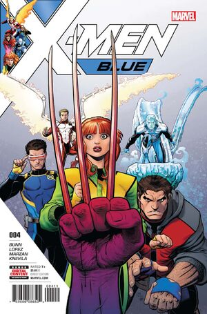 X-Men Blue Vol 1 4