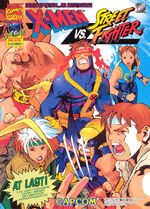 X-Men vs. Street Fighter Flyer