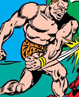 Zandow (Earth-616) from Captain America Comics Vol 1 5 0001