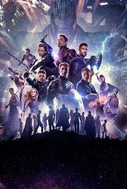 Avengers Endgame poster 035 Textless