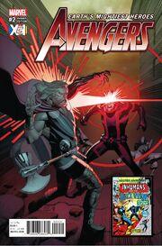 Avengers Vol 7 2 XCI Variant