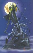 Conan (Earth-616) and Lord Pumpkin (Earth-93060) from Battlezones Dream Team 2 Vol 1 1 0001