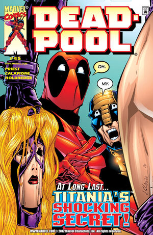 Deadpool Vol 3 45