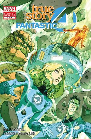 Fantastic Four True Story Vol 1 1