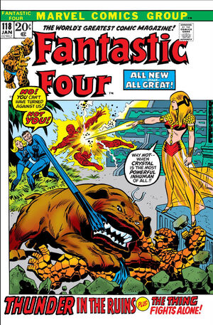 Fantastic Four Vol 1 118