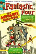 Fantastic Four Vol 1 26 Vintage