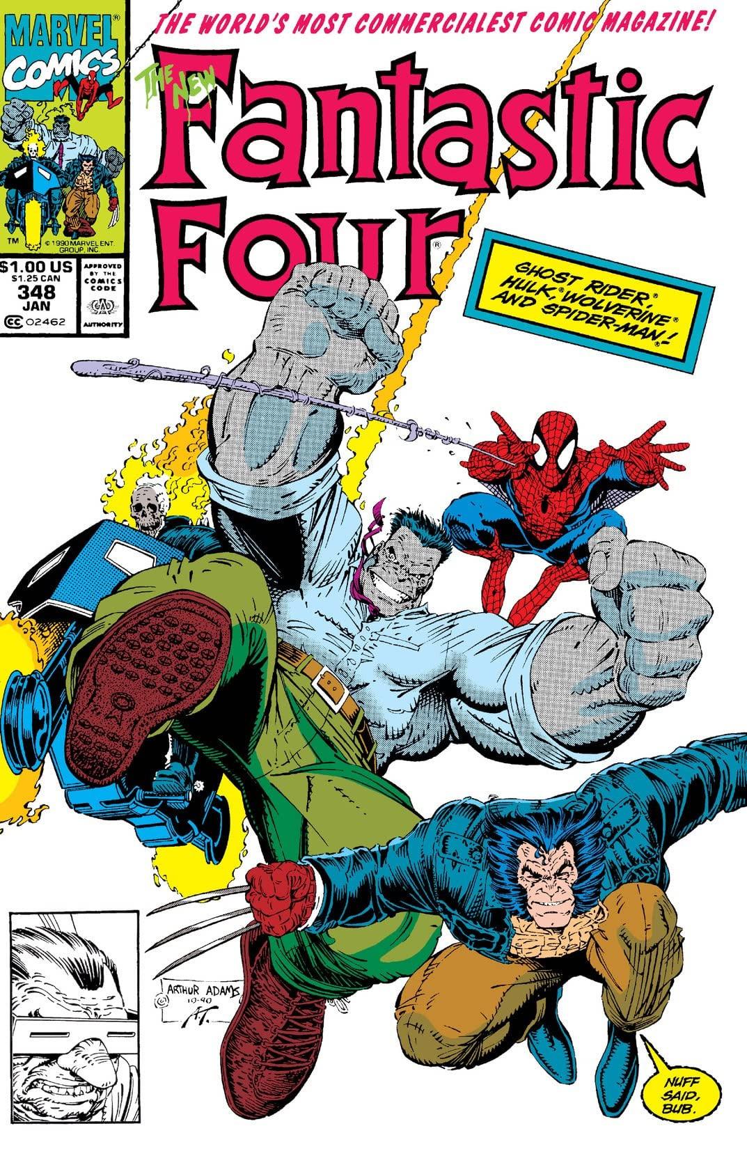 3410f7a97ff Fantastic Four Vol 1 348   Marvel Database   FANDOM powered by Wikia